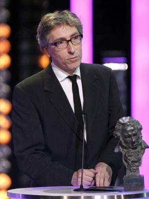 David Trueba recoge el Goya a mejor director.