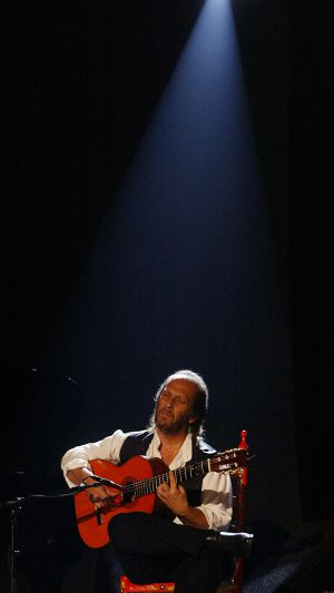 Paco de Lucía, en el Festival de Jazz de Vitoria de 2004.
