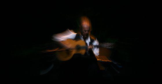 Paco de Lucía en su gira 'Cositas buenas', en Málaga (2005).