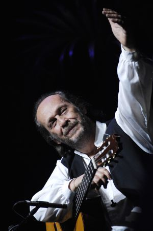 Paco de Lucía, en un concierto en Paris Grand Rex de 2007.