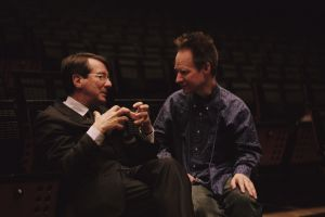 Gerard Mortier y el director de escena Peter Sellars.