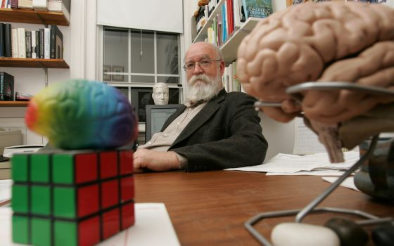 Dan Dennett, en la universidad de Tufts.