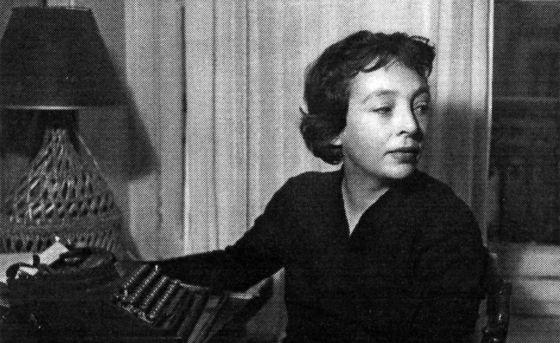 La escritora Marguerite Duras en su juventud.