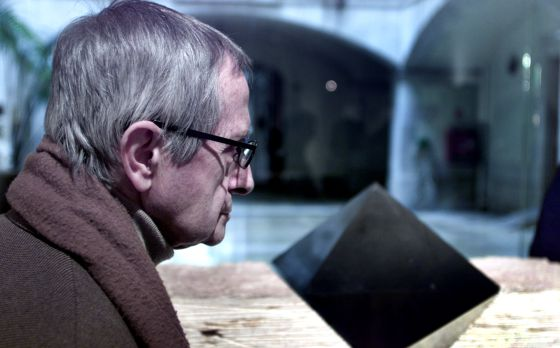 Josep Maria Subirachs, en una exposición antológica, en 2003.