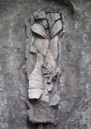 Sarcófago de 3.000 años encontrado cerca de Nazaret.