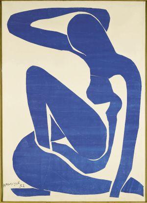 'Desnudo azul II'. / HENRI MATISSE