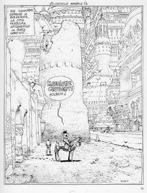 La viñeta de Moebius que fascinó a Pino Creanza, autor de 'Cairo Blues'.