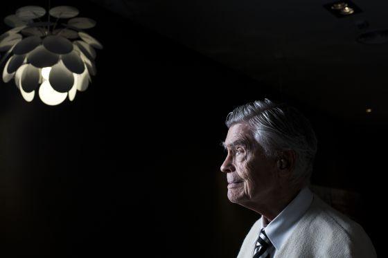 El filósofo y profesor argentino Mario Bunge, fotografiado esta semana en Madrid.