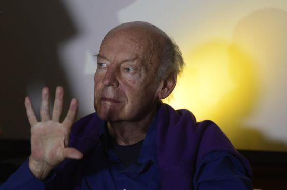 Galeano, en la Bienal del Libro de Brasilia.