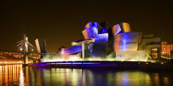 El Guggenheim Bilbao, una de las grandes obras de Gehry (1997).