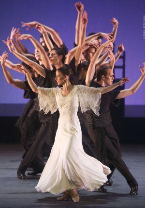 El Ballet Nacional de España en una de sus actuaciones.