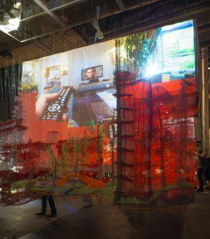 La instalación de Andrés Jaque, 'Sales Oddity'.