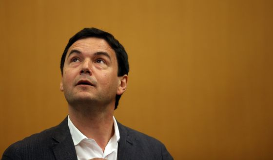 Piketty, en la Universidad de Berkeley de California el pasado abril.