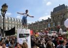 Los 'intermitentes' aumentan sus protestas en Francia