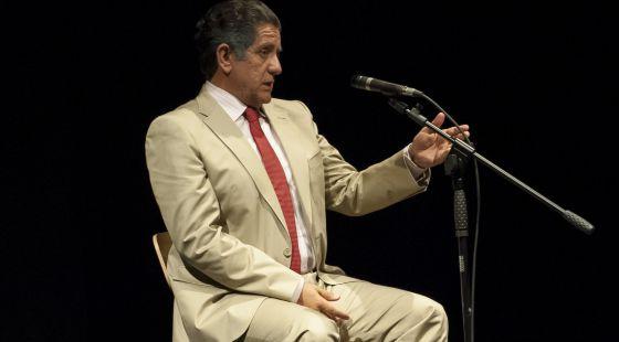 Pedro Casablanc, en el papel de Bárcenas.