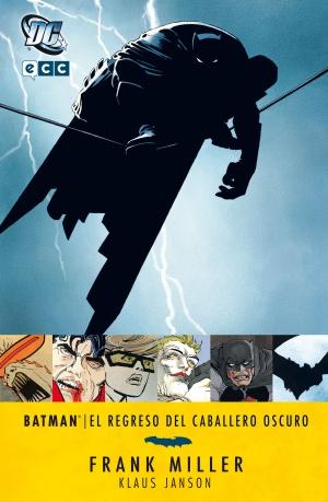 Portada de 'El regreso del caballero oscuro', la distopía futurista con Batman de Frank Miller.