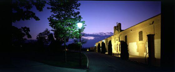Sede social de las bodegas Vega Sicilia, en la localidad vallisoletana de Valbuena de Duero.
