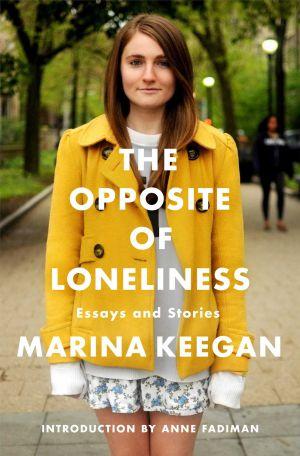 Marina Keegan, en la portada de su libro.