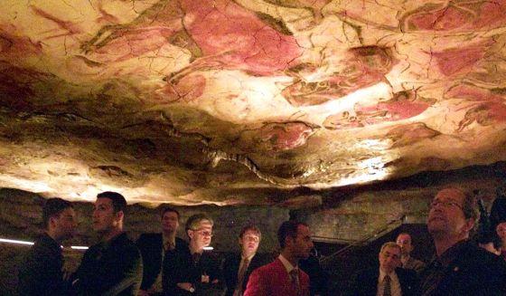 Las cuevas de Altamira.