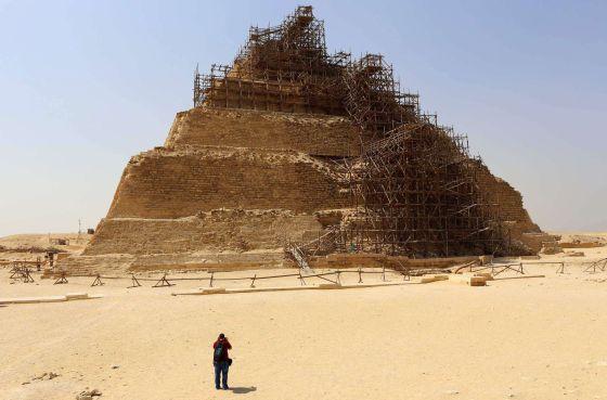 La Restauración de la Pirámide de Saqqara