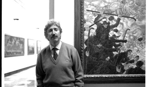 El ilustrador José Ramón Sánchez.