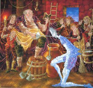 Ilustración de 'El Quijote', de José Ramón Sánchez.