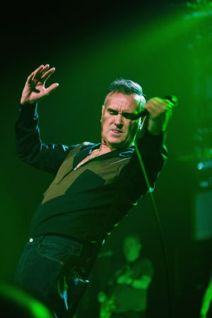 Morrissey en The Moore Theater el 6 de marzo de 2013 en Seattle.