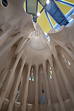 Una de las imágenes de la exposición dedicada a la Sagrada Familia.
