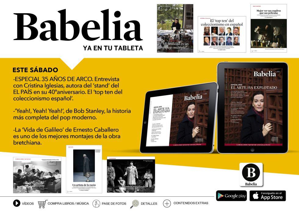 Todo 'Babelia' en tu tableta
