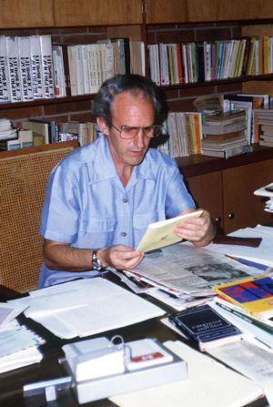 Ignacio Ellacuría, asesinado el 16 de noviembre de 1989.