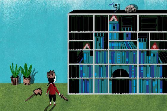 Biblioteca no apta para mayores