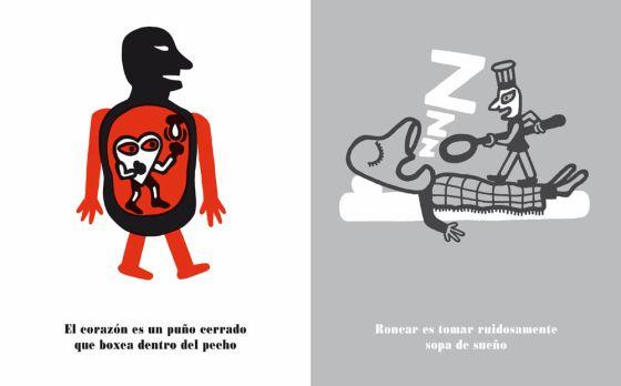 Dibujos de César Fernández Arias para las '100 greguerías ilustradas' de Ramón Gómez de la Serna.