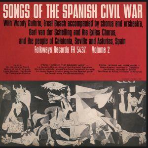 El canto de las trincheras españolas