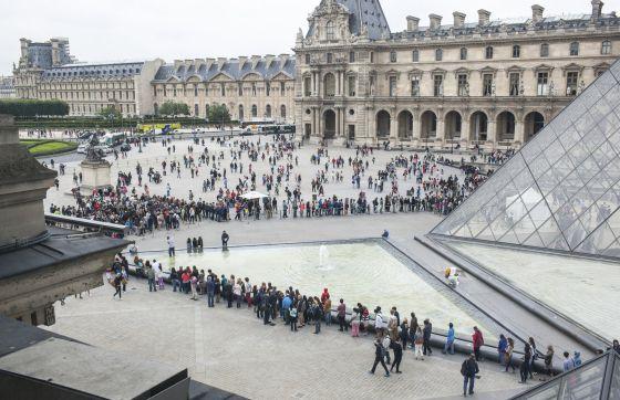 El museo de Louvre. Imagen de julio 2014. / GUIA BESANA (NYT)