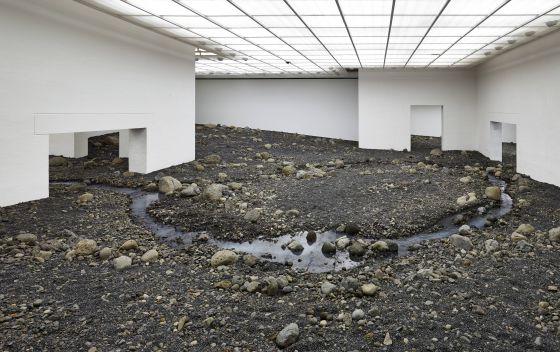 Instalación de Olafur Eliasson en el Louisiana Museum de Dinamarca