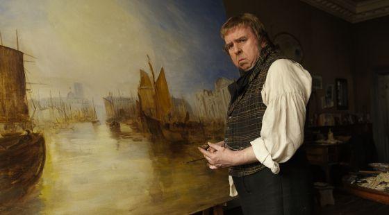 Timothy Spall, en el papel del pintor Turner en la película dirigida por Mike Leigh