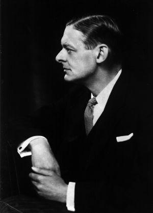 El escritor T. S. Eliot, retratado en 1930.