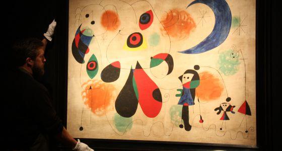 Una obra de Miró se vende por 20,5 millones de euros en Londres