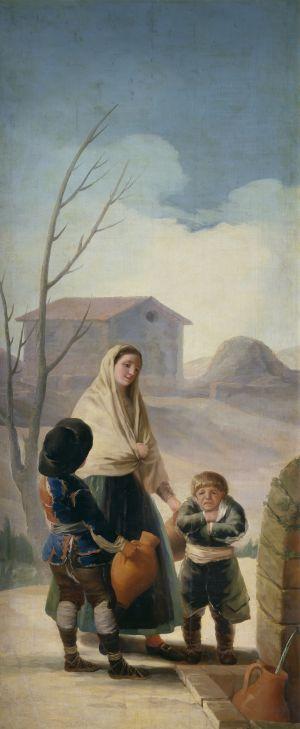 Los pobres de la fuente, de Francisco de Goya