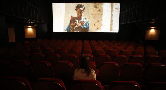 Una sala de cine en Madrid.