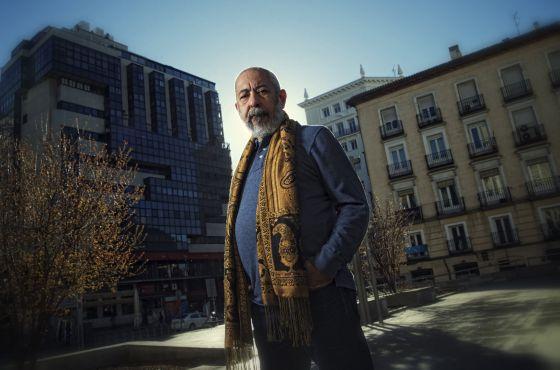 El escritor cubano Leonardo Padura, fotografiado el pasado sábado en Madrid.