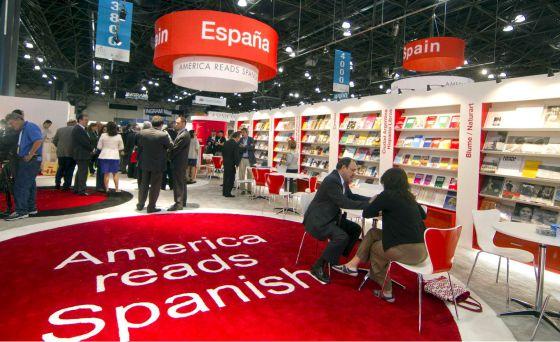 Pabellón de España en la Feria del Libro de Nueva York, en 2010.