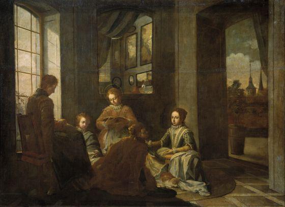 'Educación de santa Teresa'