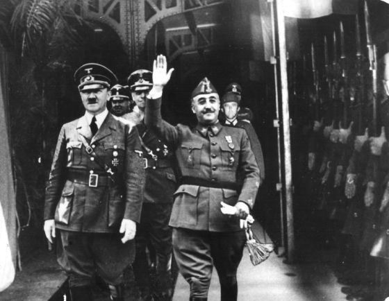 Franco y Hitler: un odio interesado