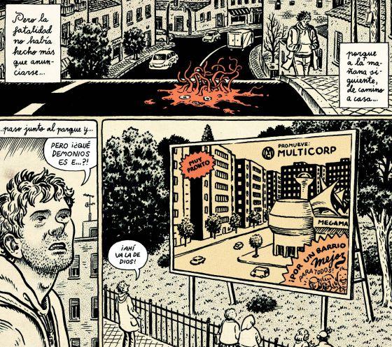 Viñetas de 'Lo que me está pasando', de Miguel Brieva.