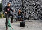 Cine en bicicleta para África