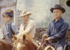 Vaqueros en el salón de casa