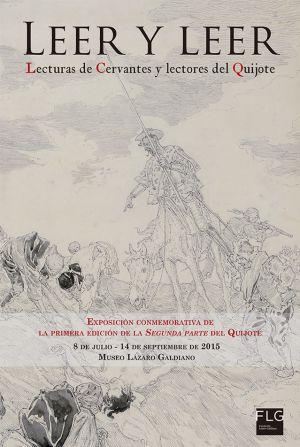 La Fundación Lázaro Galdiano presenta la exposición 'Leer y leer: lecturas de Cervantes y lectores del Quijote'.