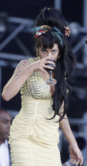 Winehouse, en Rock in Rio de Madrid de 2008.