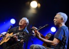 Caetano Veloso y Gilberto Gil, hoy en el Universal Music Festival